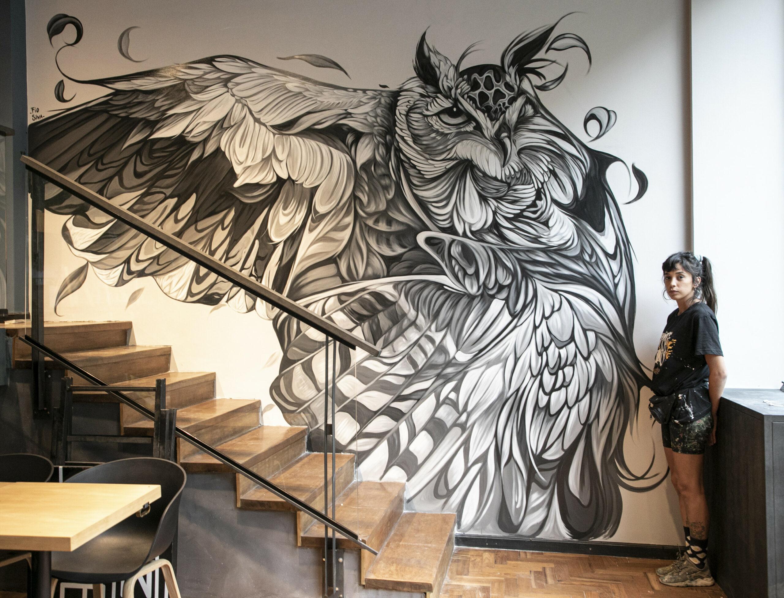 """""""Cuando pinto un mural jamás espero que perdure"""""""